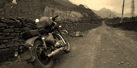 The Road to Muktinath