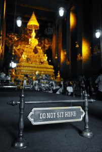 Inside a Thai Temple - Wat Pho