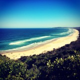 Beach in byron bay