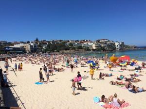 Bondi Beach Sunny Day