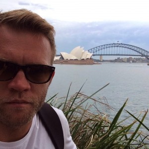 Selfie in Sydney