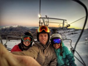 Ski Lift in Queenstown